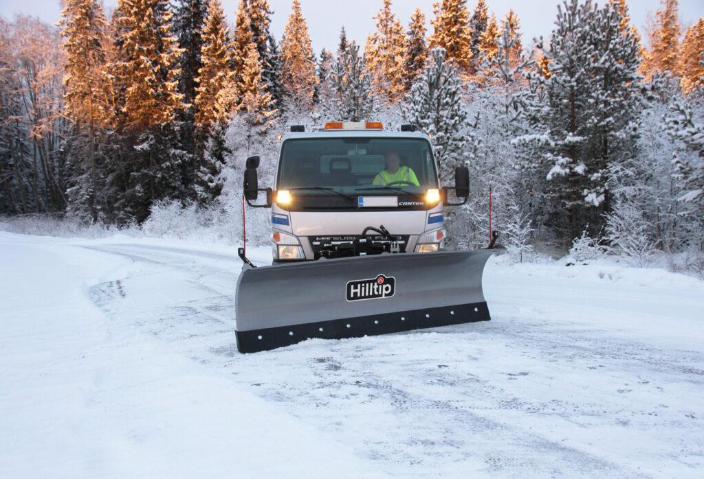 HillTip SnowStriker Lastbil Diagonalblad Image