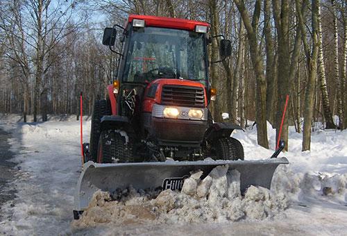 HillTip SnowStriker Traktor Diagonalblad Image